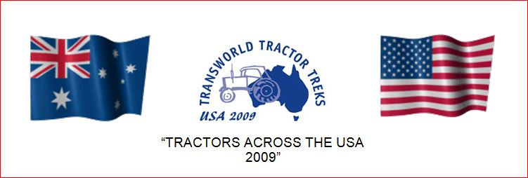 TRACTORS ACROSS THE USA 2009