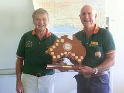 Ron presents Allan Moss with the TEC Award 250