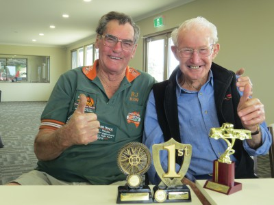 Ron Poultney & Bill Taylor with their awards