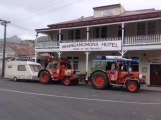 Historic Whangamomona Hotel, North Island