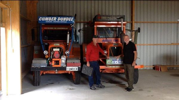 George & Cumber's tractors arrive in NZ April 2015