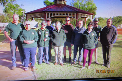 Group at Murchison after Mt Augustus trip.