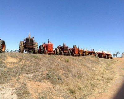 Dick Garnett's Collection of Tractors