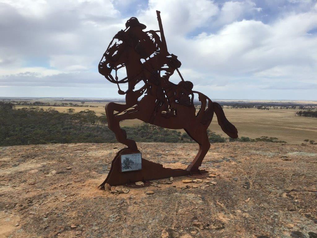 Light-Horse-Memorial-on-Yeerakine-Rock-